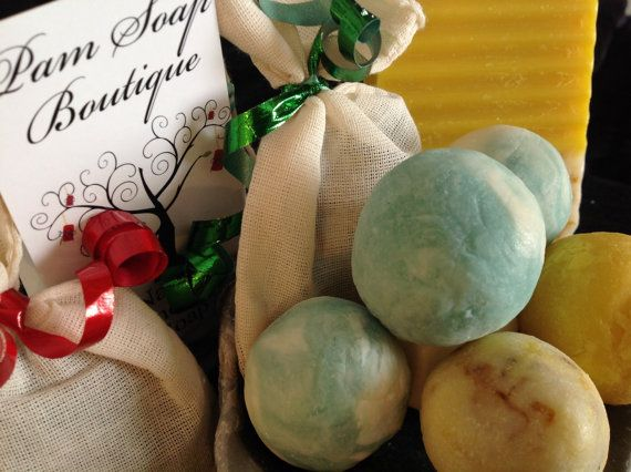 Decorative Soap Balls Beauteous Natural Handmade Soap Ballspam Soappamsoapboutique On Etsy Design Decoration
