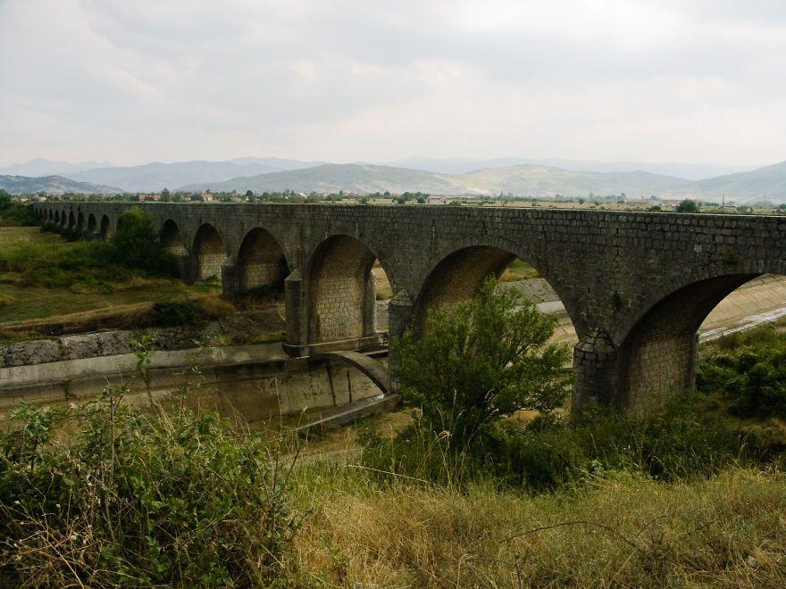 Tsar Bridge (carev Most) On The Way To Ostrog Monastyr, Montenegro