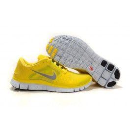 Wholesale Nike Free Run+ 3 Gul Sølv Herre Sko Skobutik | Brand nye Nike Free Run+ 3 Skobutik | Billigt Nike Free Skobutik | denmarksko.com