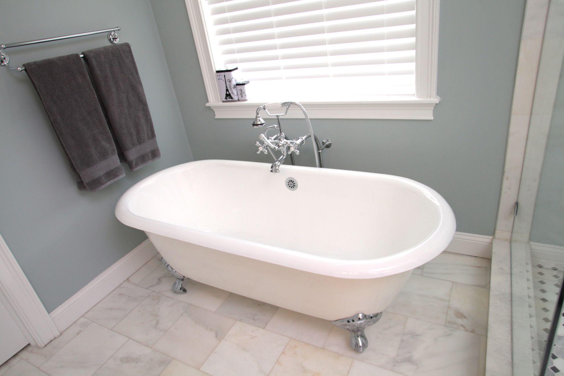 Vasca Da Bagno Con Zampe Di Leone : Copia di vasca romanza no overflow ambientata vasca da bagno