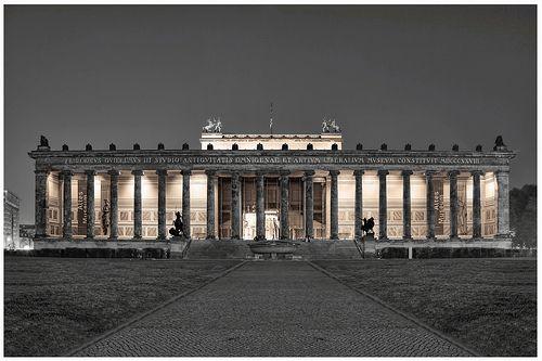 Berlin Altes Museum 02 Museum Island Historical Architecture Neoclassical Architecture