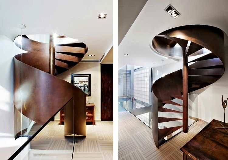 Best 12 Feet Wide Family House By Ferrolan Lab Staircase 400 x 300