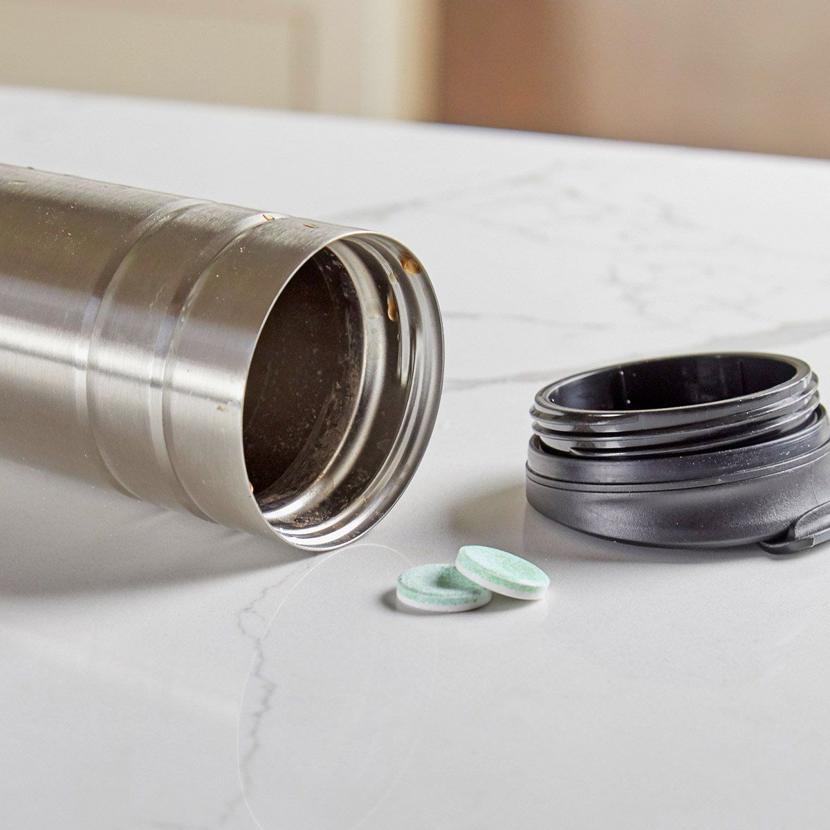 How to Easily Remove Tough Stains from a Coffee Thermos