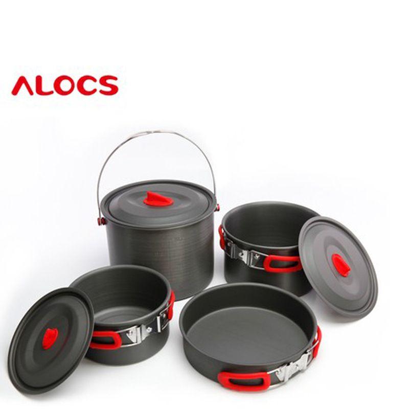 New 5 6 Outdoor Picnic Pot Hanging Pot Pan Base Set Cw Rt07 Cooking Set Pots And Pans Sets Outdoor Cooking