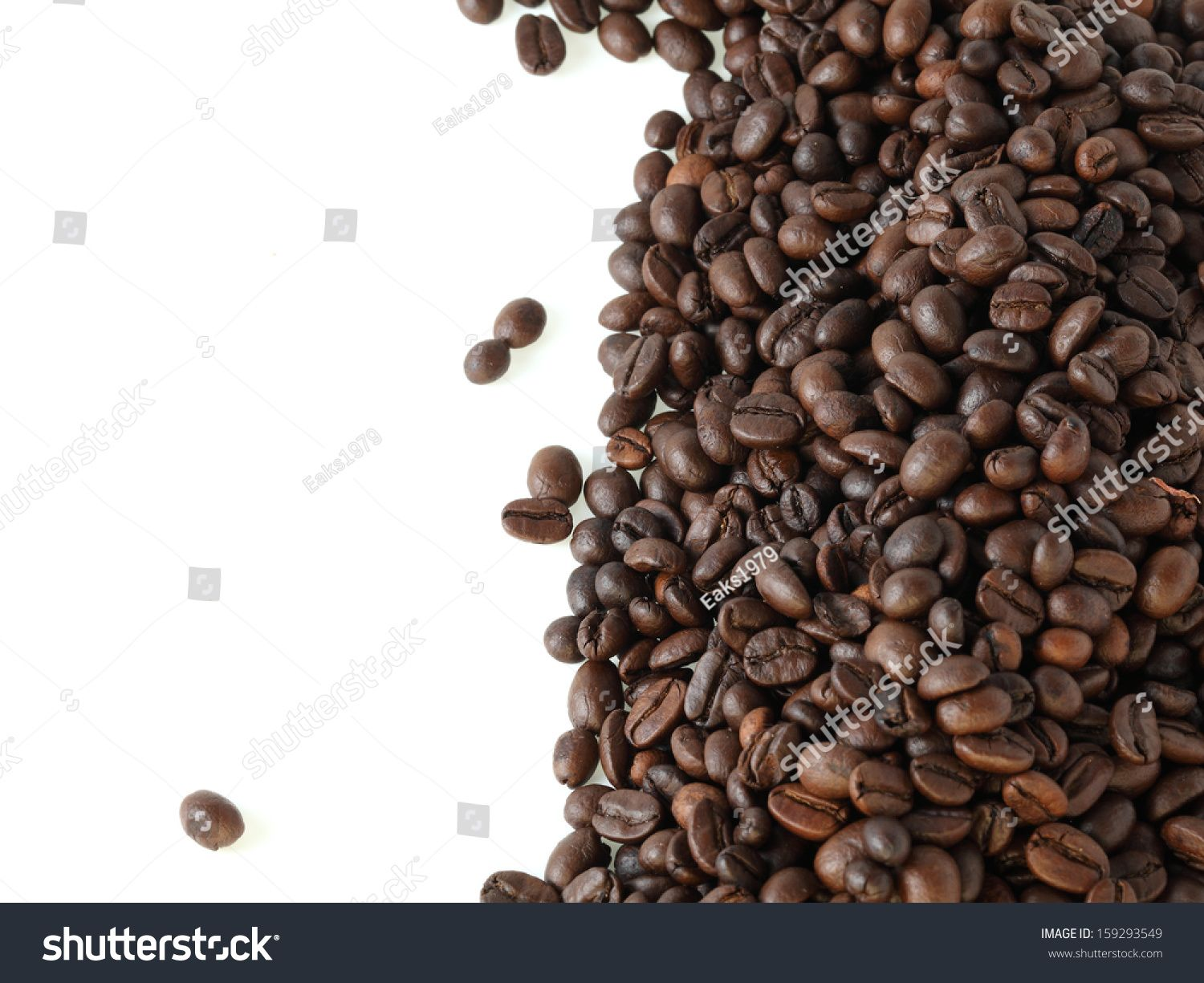Coffee Beans On White Background Ad Affiliate Beans Coffee Background White In 2020 Coffee Beans White Background Beans