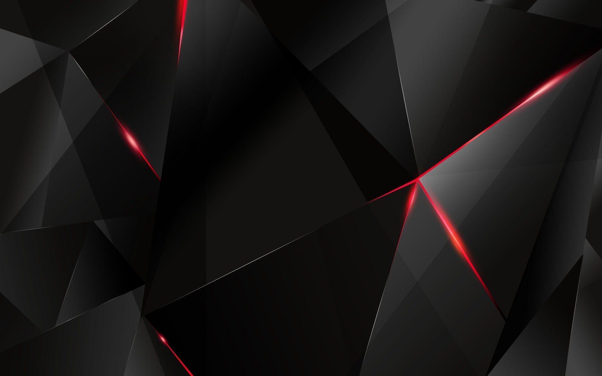 1920 x 1200 94k jpg 21364 Black polygon with red edges