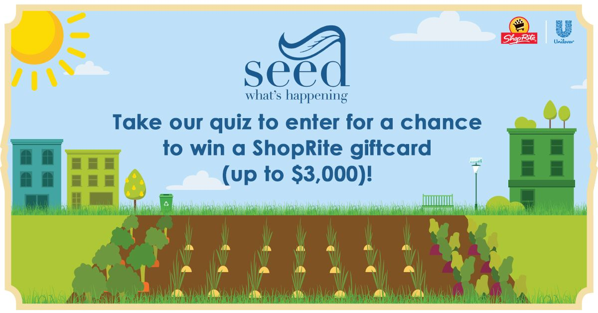 I just entered for a chance to win a shoprite gift card