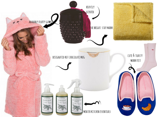jaye by day: my cold weather home essentials