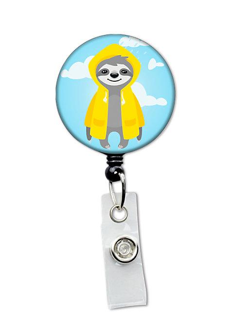 Paw Print Comfort Retractable ID Badge Reel NEW!