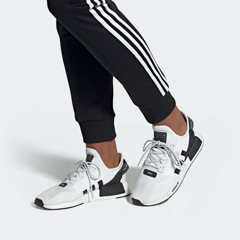 Adidas Nmd R1 V2 Shoes White Adidas Us In 2020 White Adidas