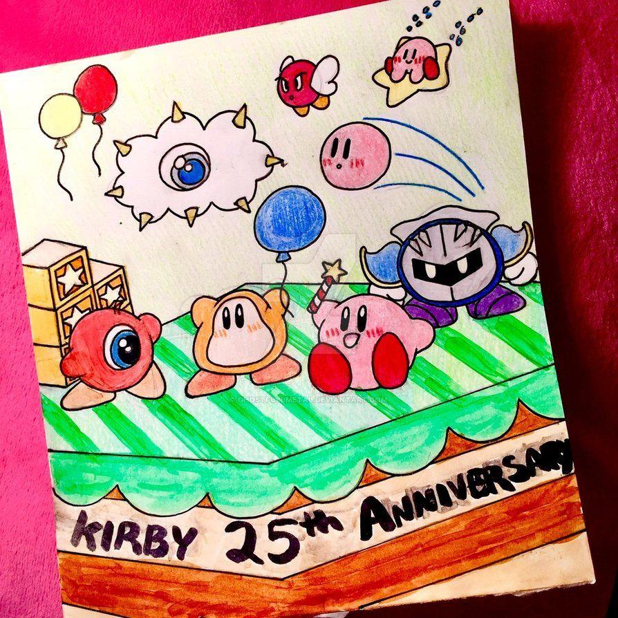 Kirby 25th anniversary by ghostfullmetaliantart on kirby 25th anniversary by ghostfullmetaliantart on deviantart voltagebd Image collections