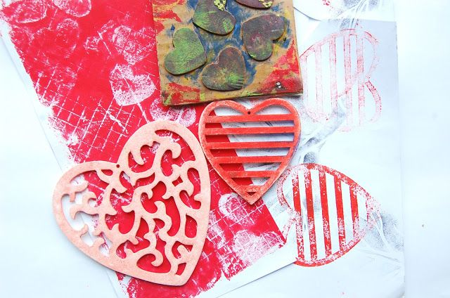 heArt Makes: February valentine day divider from my Unplanner
