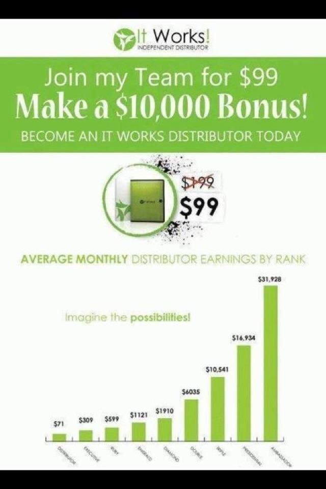 Great Video what do you have to loss never know it just might change your life: https://denisebarkel.myitworks.com/replicatedopportunity