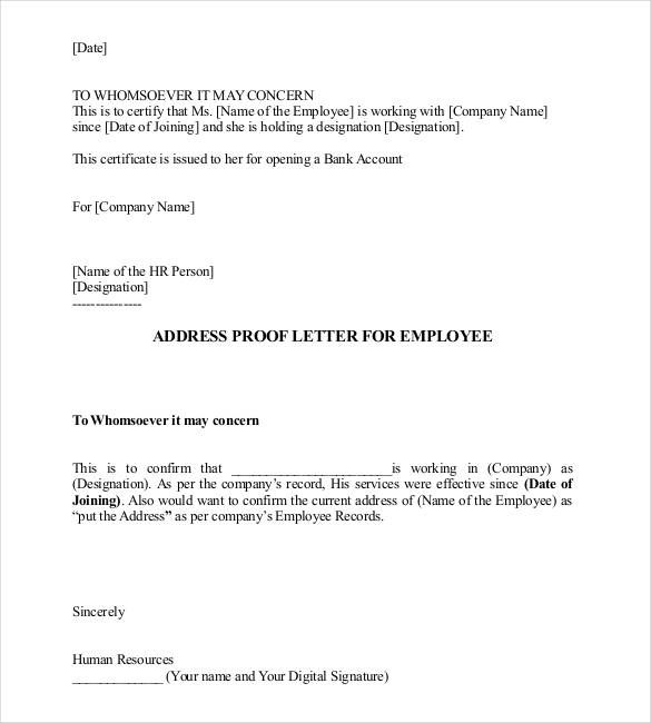 Sample Proof Of Employment Letter Investment Banking Cover Letter