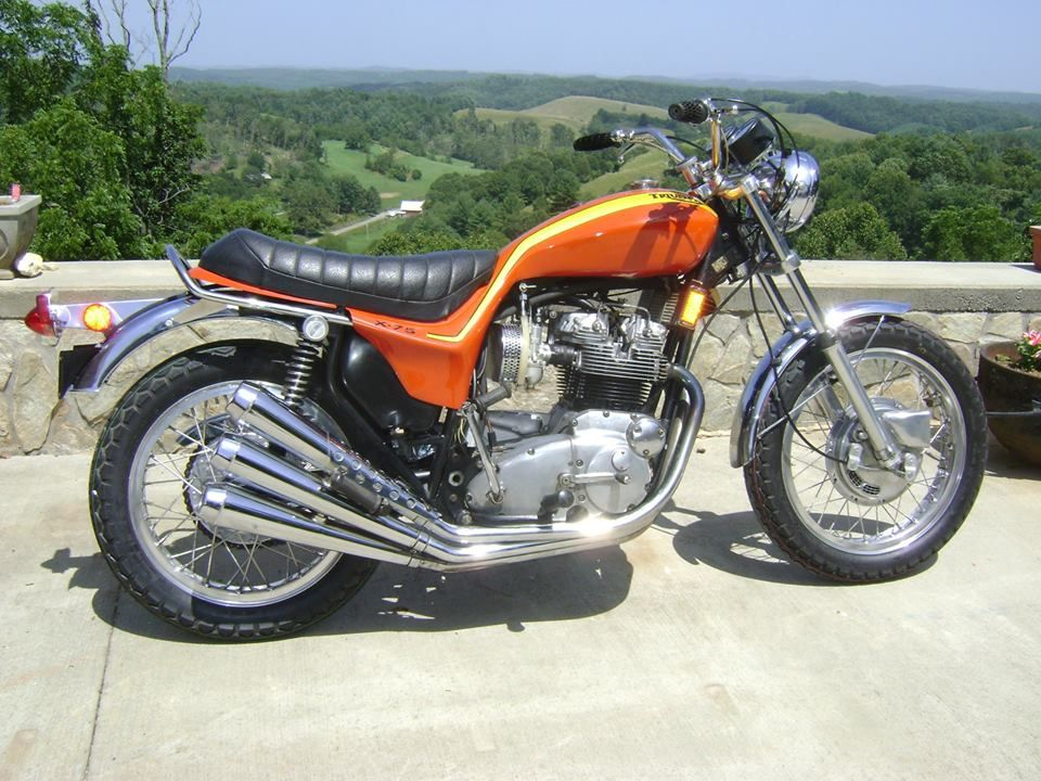 Pin by Andrew Humphries on Triumph Hurricane X75