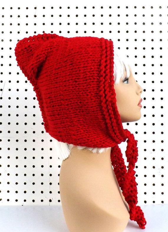Knitting Pattern Hat Knitted Hat Hood Pattern Knit Hood Pattern ...