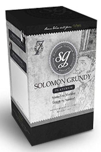 Solomon Grundy Platinum Home Brew Wine Kit Ingredient Sauvignon Blanc 30 Bottle