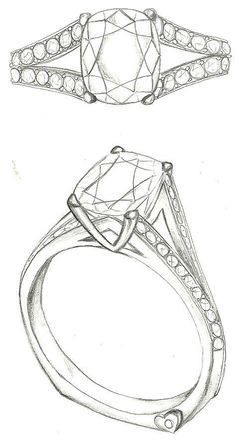 Mark Schneider Design - custom engagement ring