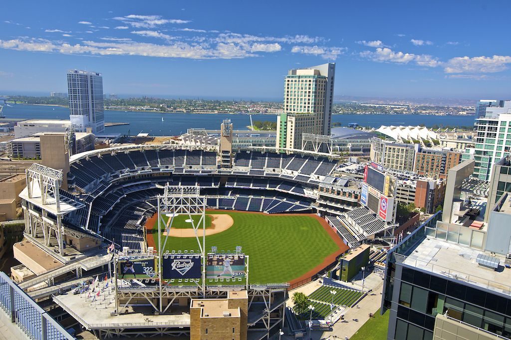 Petco Park Home Of The San Diego Padres A Very Nice Baseball Field To Go With Whole Family My And I Sat In Bleachers Kids Got