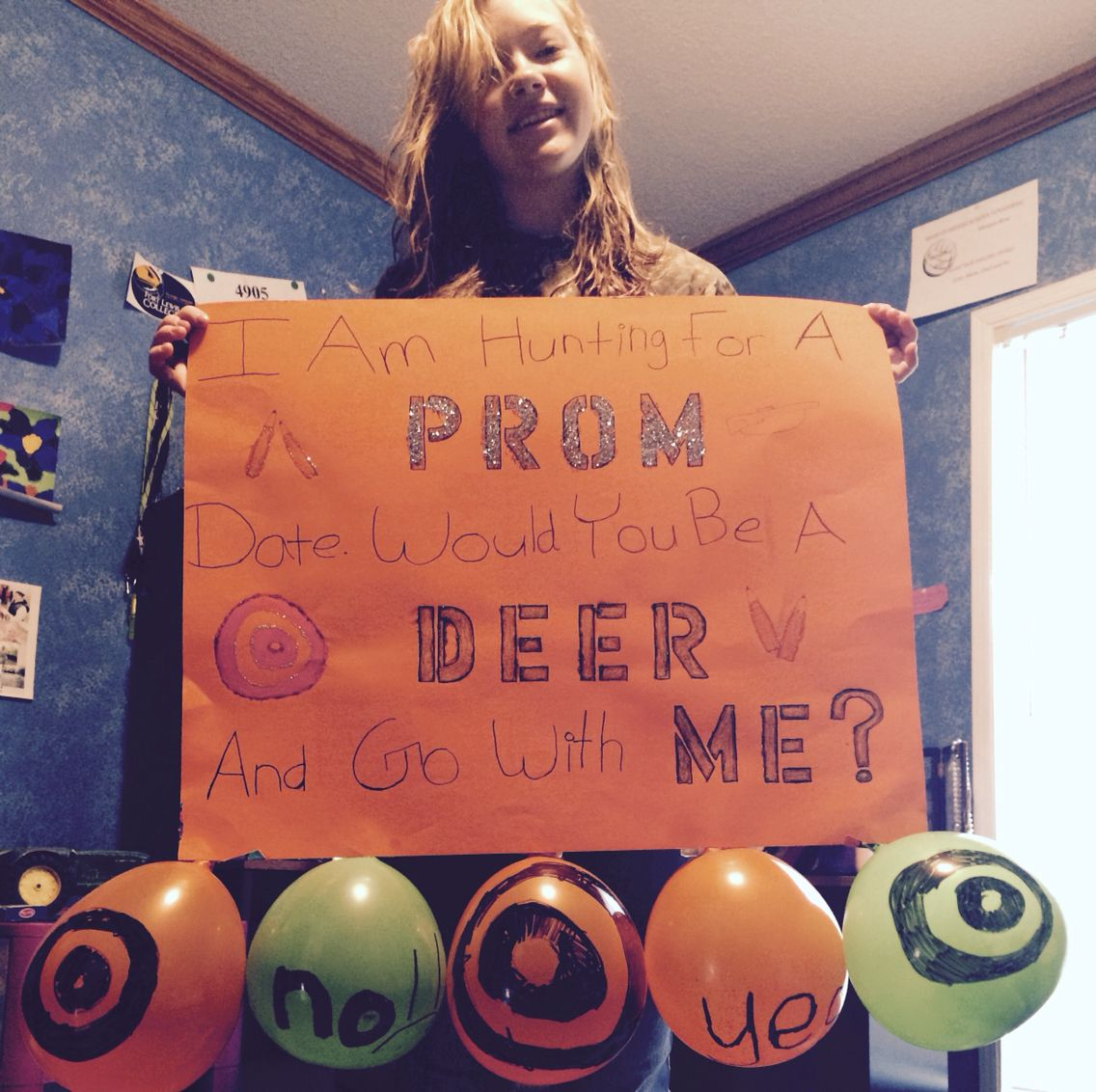 """Promposal For A Country Girl! """"I'm Hunting For A Prom Date"""