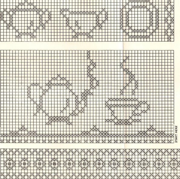 Lace \'n\' Ribbon Roses: Chicken Scratch/Gingham Stitch Patterns ...