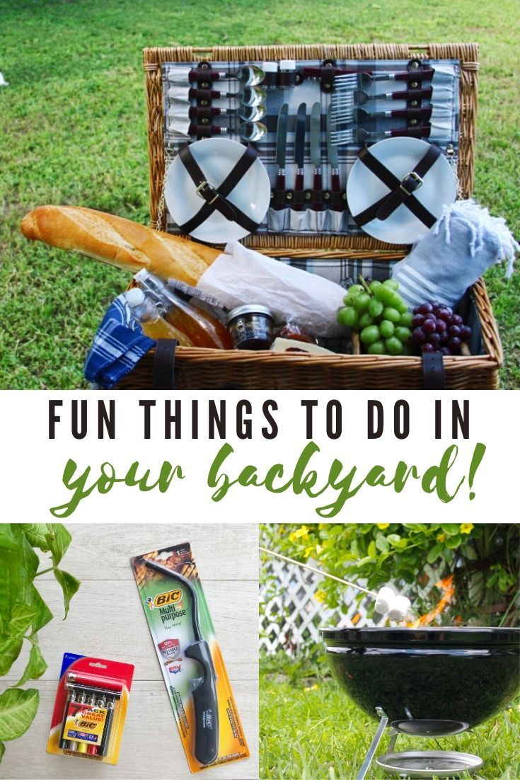Fun Things To Do In Your Backyard this Summer in 2020 ...