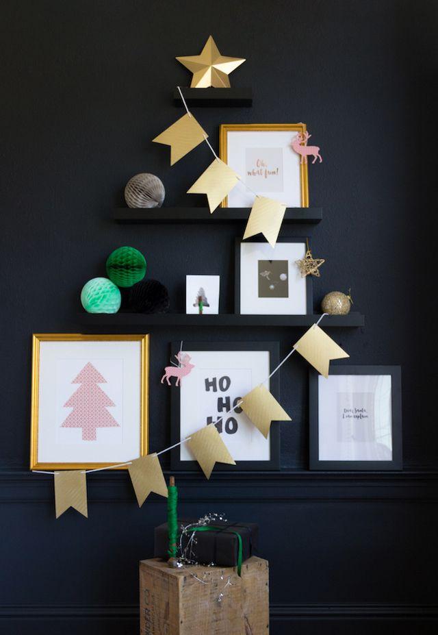 Alternative Christmas Tree 2015 - French By Design