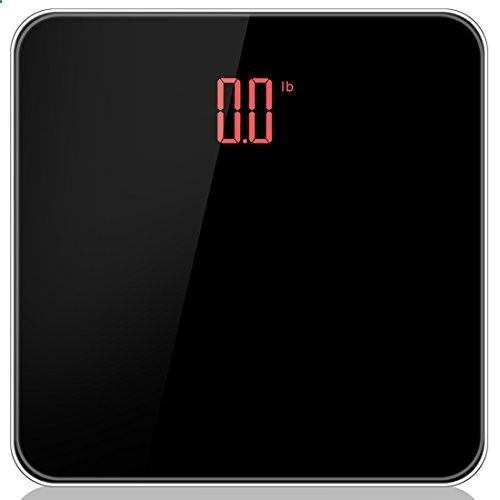Insen Precision Digital Body Weight Bathroom Scale With Hidden Large Led Display Platform Smart Stepon