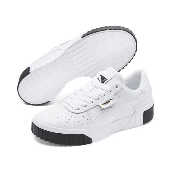 Puma Schuhe Platform Metallic W Sneakers Low weiß Damen
