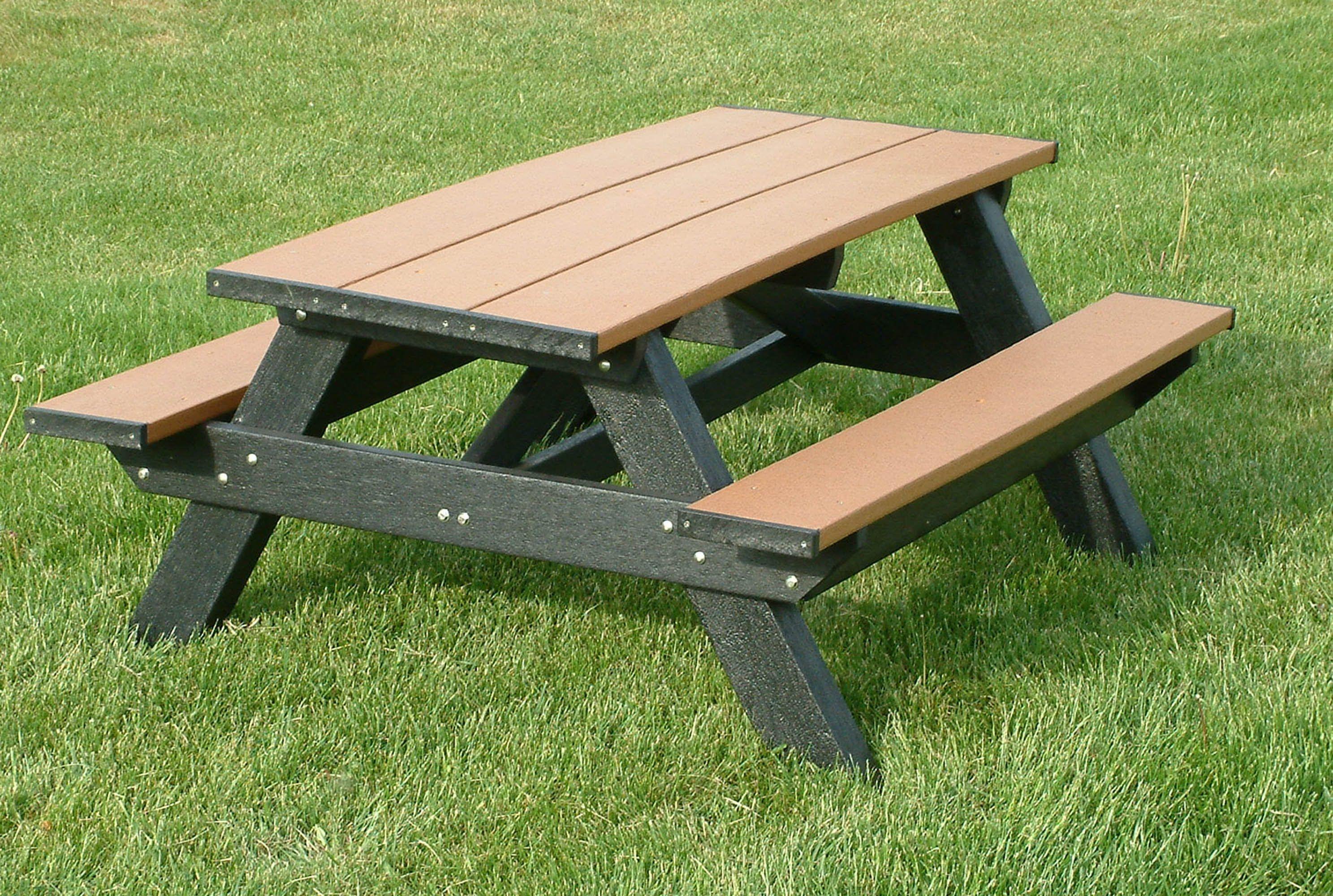 standard 6ft picnic table mesas de picnic pinterest picnic