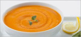 Sweet Potato and Roasted Red Pepper Bisque