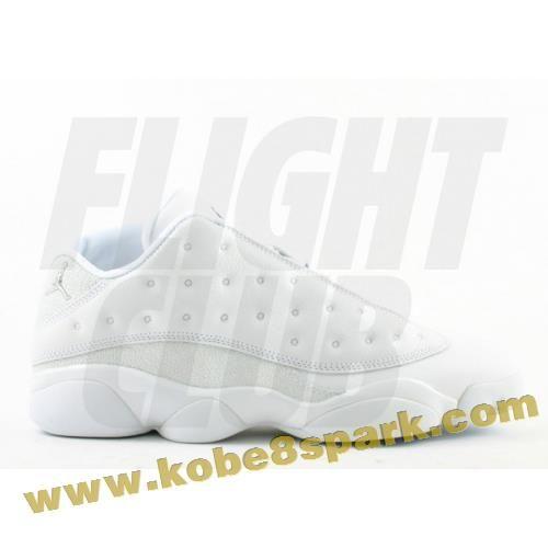 Air Jordan 13 retro low white metallic silver midnight navy ice blue Outlet 5e4a829f1