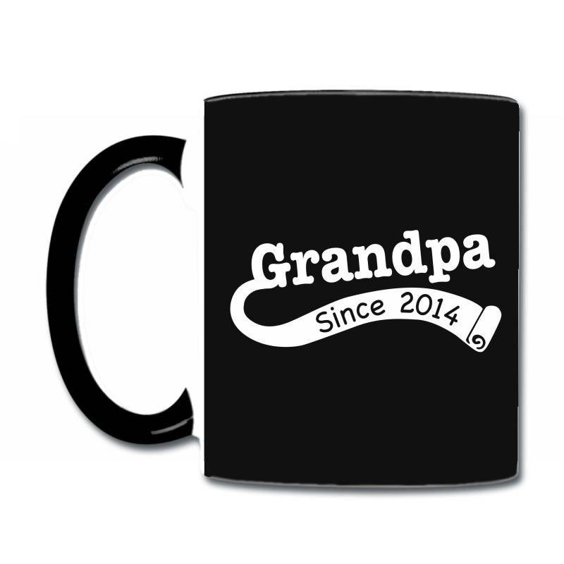 Grandpa Since 2014 Coffee & Tea Mug