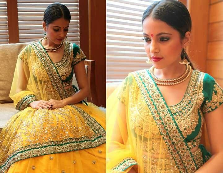 Perfect indian bride Lehenga Designer lehenga Indian bride wear