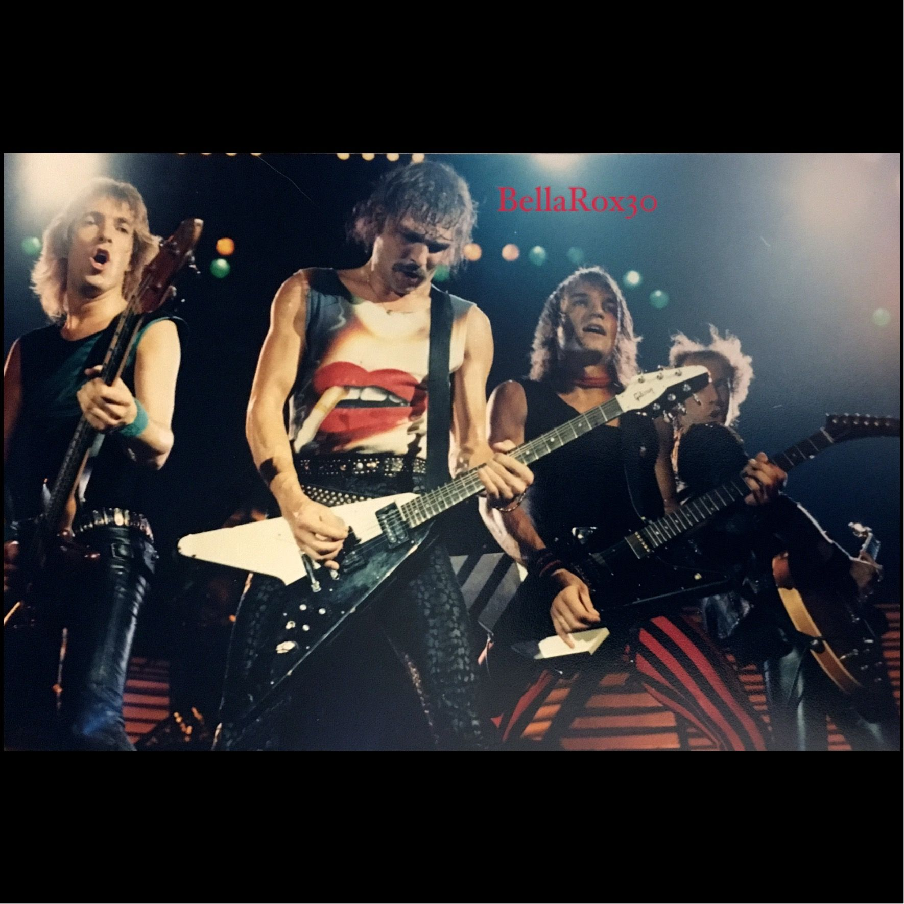 Scorpions live in Vancouver 1982