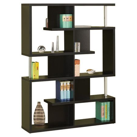 A Modern Way To Display Heirlooms Novels And Vases This Openwork Bookcase Brings Geometric Eal Any E
