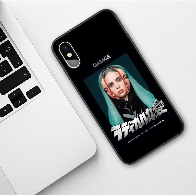 3d billie eilish themed iphone case 16 varian in 2020