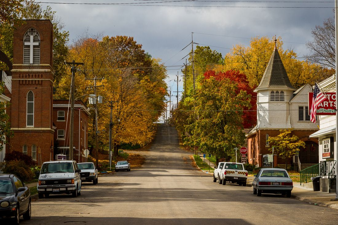 Landscapes Small Town America Petersburg Il Small Town America Small Towns Usa Small Town Life