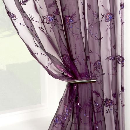 amethyst voile panel dunelm sheers and shades. Black Bedroom Furniture Sets. Home Design Ideas