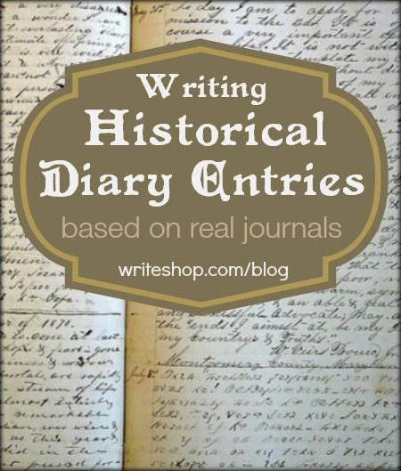 writing a diary entry sample
