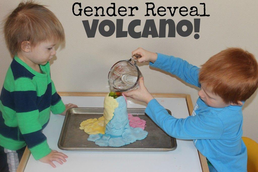 Gender Reveal Volcano Gender Reveal Volcano Gender Reveal Kids Boy Gender Reveal