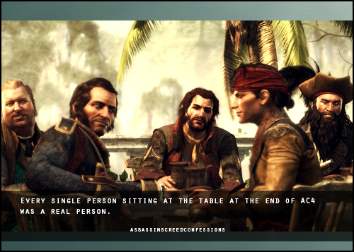 From Left To Right Stede Bonnet Benjamin Hornigold Charles Vane Mary Read Aka James Kidd And Edward Assassins Creed Black Flag Assassins Creed Assassin