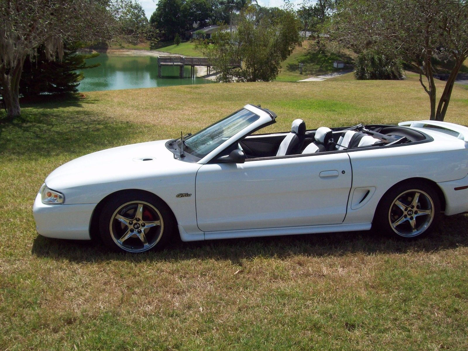 eBay: 1996 Ford Mustang GT 2dr Convertible 1996 Ford Mustang Convertible Gt  4.6 Custom #fordmustang #ford