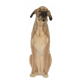 Handcrafted 35 Inch Life Size Great Dane Stuffed Animal By Hansa
