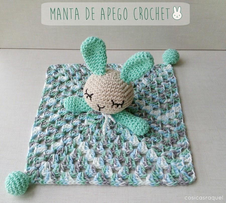 Manta de apego crochet, ¡tutorial! | Conejo, Manta y Perfecta