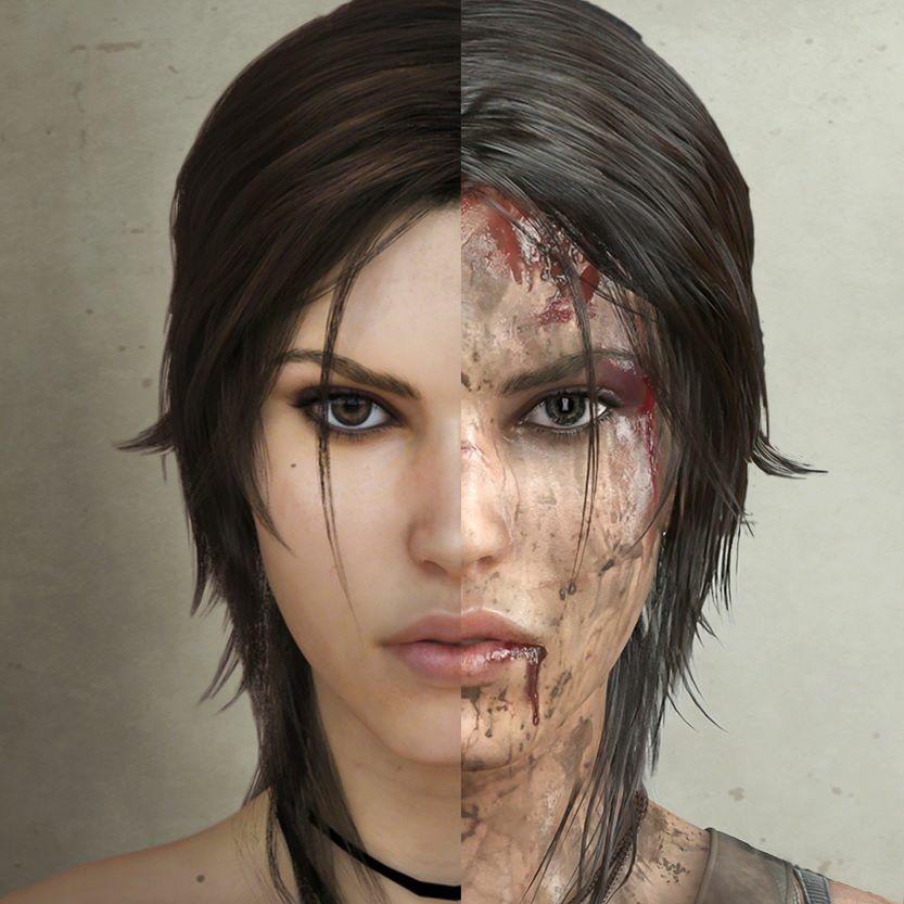 Lara Croft Beyond The Cute Face Tomb Raider Lara Croft Laura
