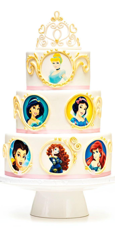 Disney Princess Cake | Cakes and Cupcakes for Kids birthday party ...