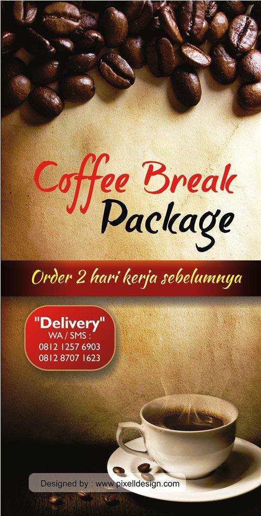 Desain Menu Minuman Coffee Break Desain menu, Makanan