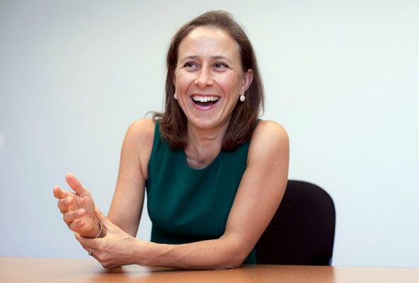 MAPPING GENES Anne Wojcicki, co-founder of 23andMe, a DNA