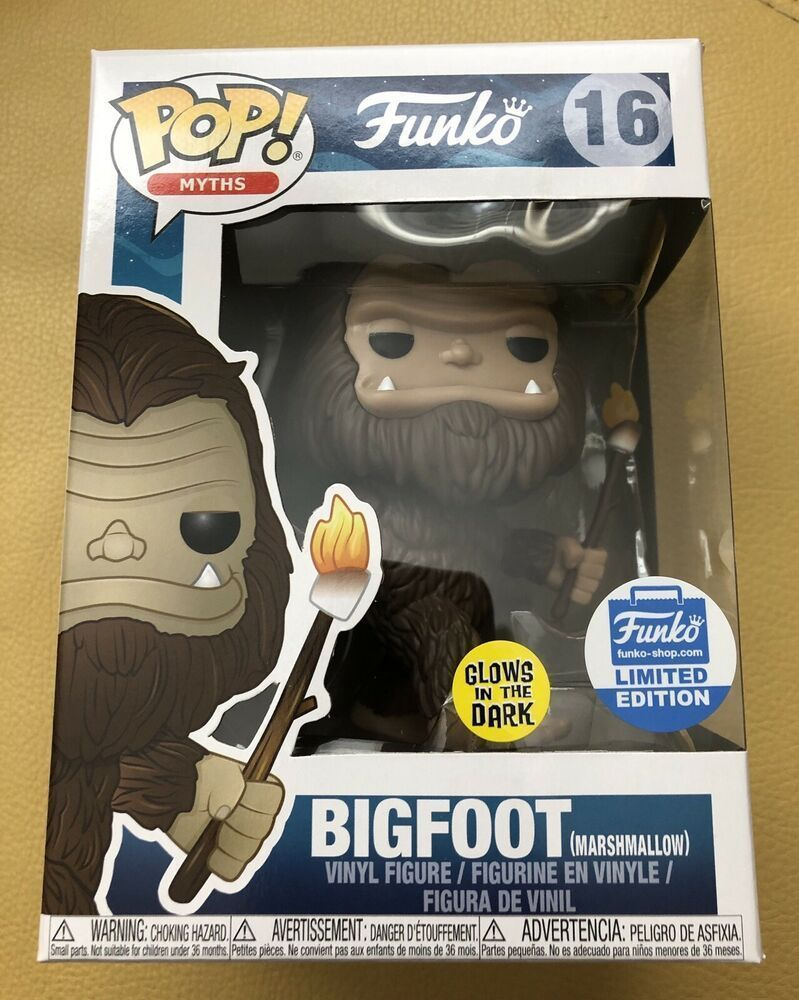 Funko POP! Bigfoot with Marshmallow Stick Glow in the Dark Funko-Shop Excl. #16 #afflink Contains affiliate links. When you click on links to various merchants on this site and make a purchase this can result in this site earning a commission. Affiliate programs and affiliations include but are not limited to the eBay Partner Network. #marshmallowsticks Funko POP! Bigfoot with Marshmallow Stick Glow in the Dark Funko-Shop Excl. #16 #afflink Contains affiliate links. When you click on links to va #marshmallowsticks